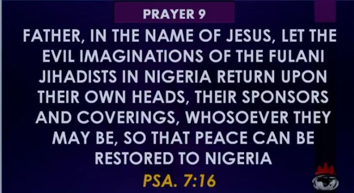 Prayer 09 Against Fulani Heards Men