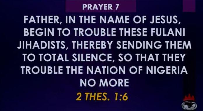 DAVID OYEDEPO 14 Dangerous Prayer Against KILLER-FULANI HERDSMEN