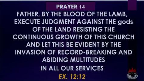 Prayer SIX 6-LET THESE KILLER-FULANIHERDSMEN BE MADE TO SEETERROR