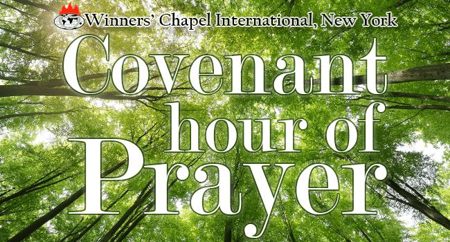 Winners covenant hour of prayer