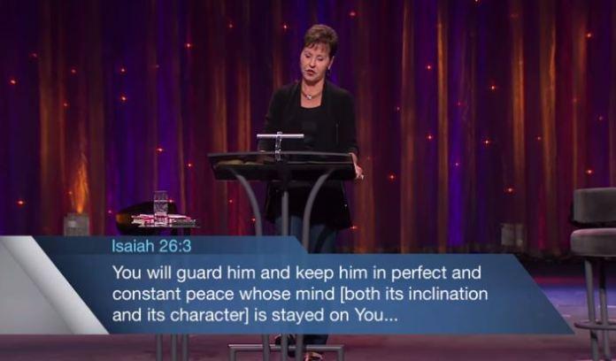 read Isiah 26 Joyce