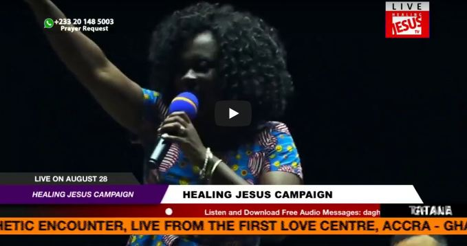 WATCH THE HEALING JESUS CAMPAIGN, LIVE FROM TATALE - GHANA