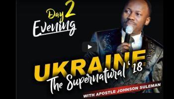THE SUPERNATURAL Apostle Johnson Suleman