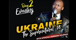 THE SUPERNATURAL Apostle Johnson Suleman