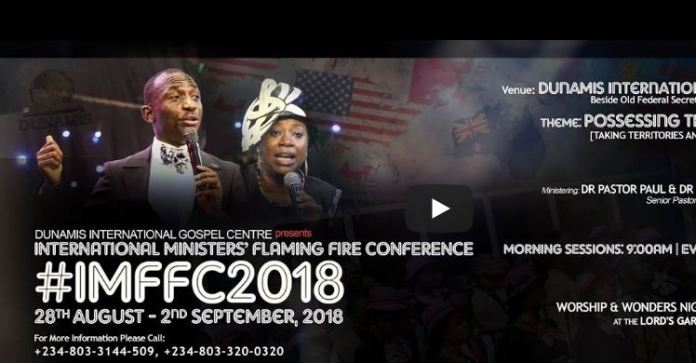 INT'L MINISTERS' FLAMING FIRE CONFERENCE 2018