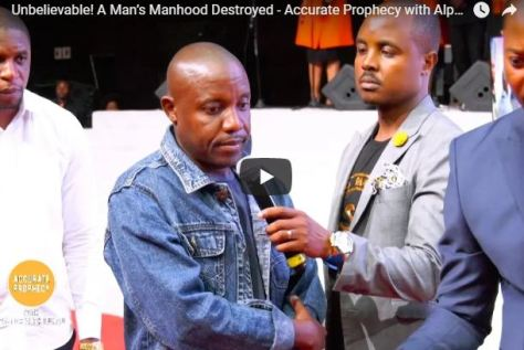 Accurate Prophecy with Alph LUKAU