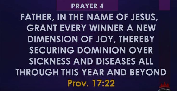 COVENANT HOUR OF PRAYER 25 FEBRUARY 2019