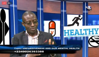 Live Broadcast Dove TV HEALTHY LIVING UNFORGIVENESS AND OUR MENTAL HEALTH
