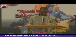 MFM BOWIE 2018 Crusade Live streaming 247devotionals.com