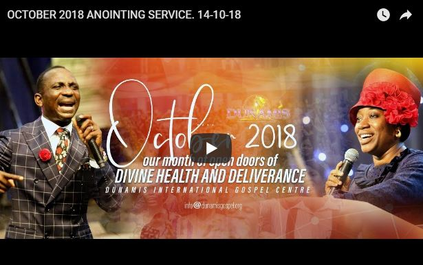 dunamis church october online service theme and worship