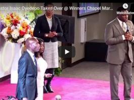 DAVID ISAAC OYEDEPO Takes Over @ Winners Chapel Maryland USA