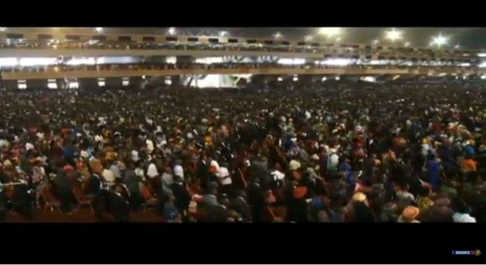 Full capacity Glory Dome Abuja