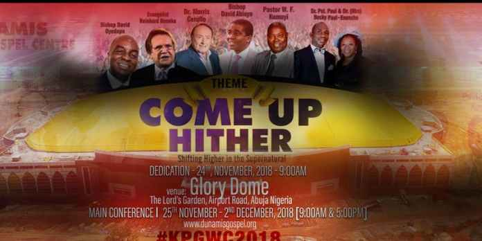 REGISTER ONLINE KINGDOM POWER AND GLORY WORLD CONFERENCE #KPGWC2018