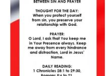 Seed of Destiny Devotional Wednesday 19 December 2018