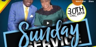 Sunday Service 30th Deco 2018 LIVE with Apostle Johnson Suleman