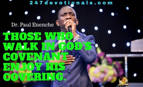 THE COVERING OF THE COVENANT BY DR. PASTOR PAUL ENENCHE