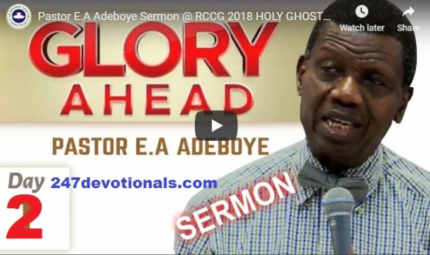 rccg holigost congress day two live december 2018