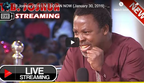 LIVE Sunday Service At The SCOAN With T B  Joshua (23/06/19) - Daily