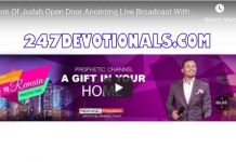 Lion Of Judah Open Door Anointing Live Broadcast With Major 1