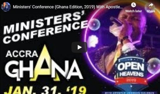 Apostle Suleman in Ghana
