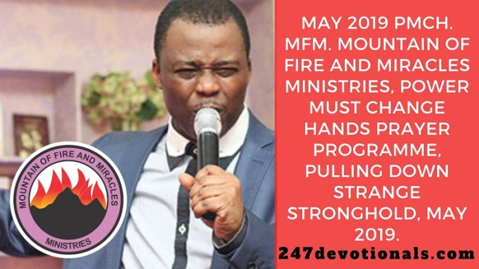 May 2019 PMCH MFM Power Must Change Hands