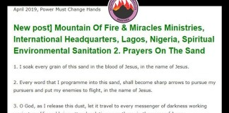 Mountain Of Fire & Miracles Ministries, International Headquarters, Lagos