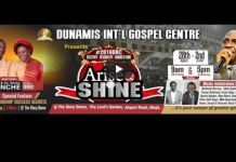 Arise and shine Dunamis 2019 Dr Paul Enenche