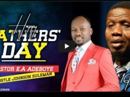 (Sun. 16th June, 2019) Live With Apostle Johnson Suleman