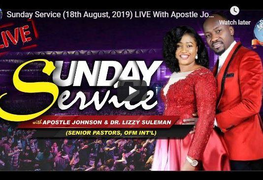 About Apostle Johnson Suleman
