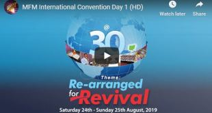 MFM Convention 30th Anniversary