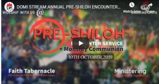 Winners ANNUAL PRE-SHILOH ENCOUNTER SERVICE