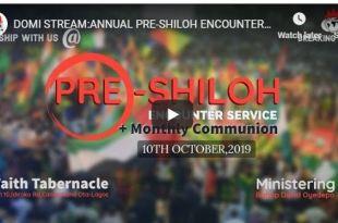 Winners ANNUAL PRE-SHILOH ENCOUNTER SERVICE