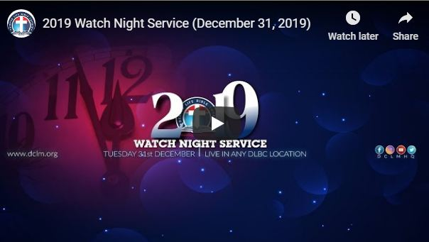DCLM Crossover Night December 2019-2020
