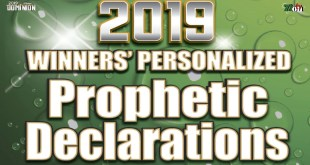 Winners Church personalized declaration for 2020