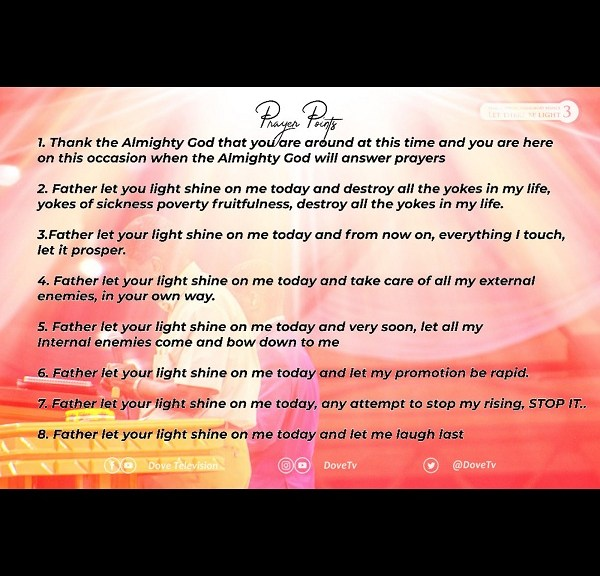 March Special Holy Ghost Service Prayer Points