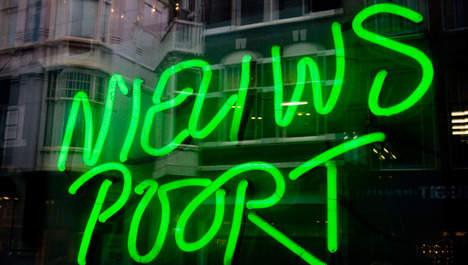 Minibeurs in Perscentrum Nieuwspoort te Den Haag