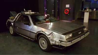 DeLorean Back to the Future, DeLorean huren, Bedrijfsfeest, Back to the Future, Replica DeLorean Time Machine