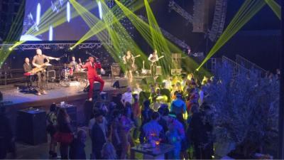 Bedrijfsfeest organiseren - Live muziek en entertainment