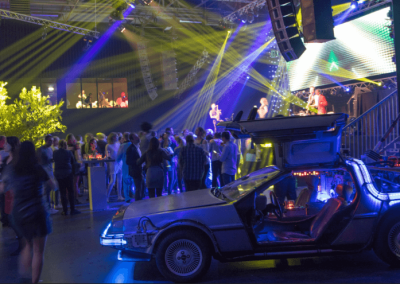 Back to the Future party, Elsevier