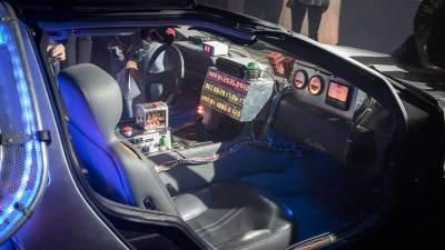 Back to the Future DeLorean huren in Amsterdam Timecircuits