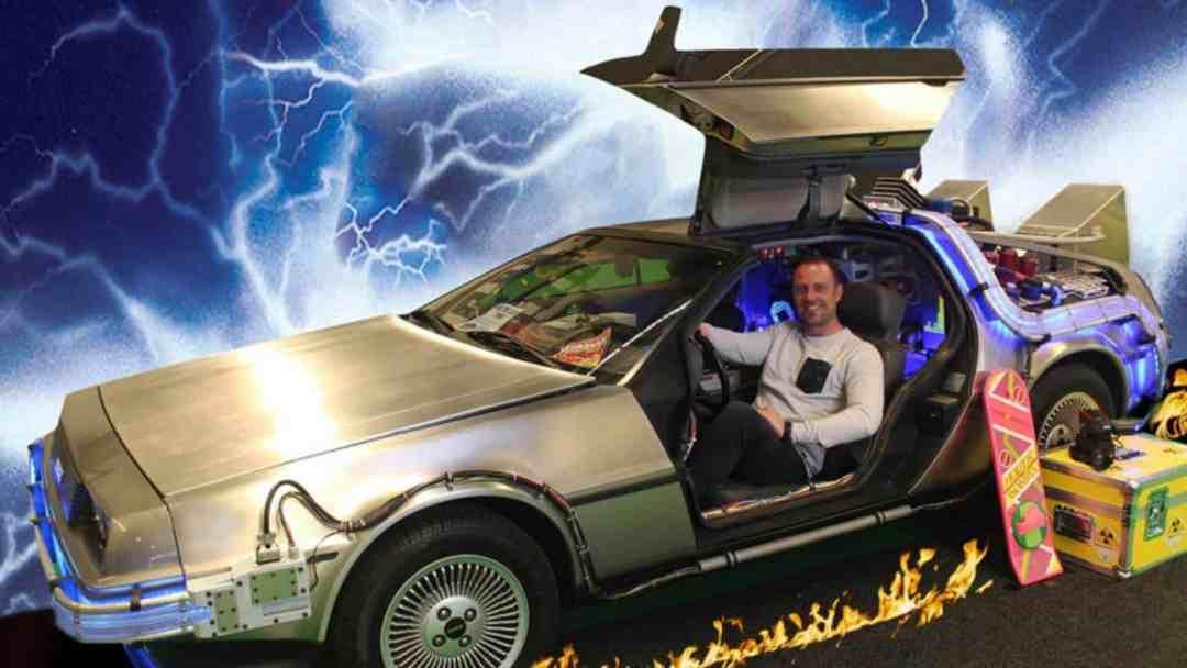 Back to the Future DeLorean Photobooth1