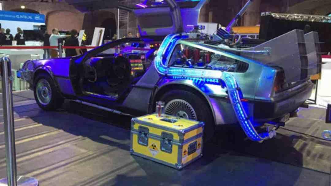 Back to the Future DeLorean for Events-plutonium-case