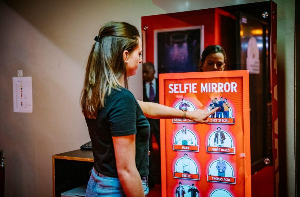 Mirror X magische fotospiegel