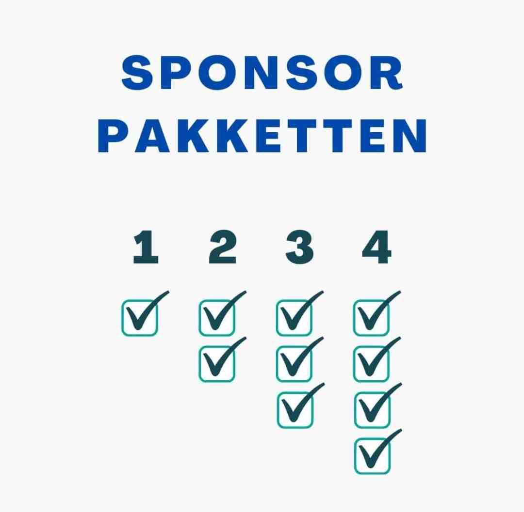 Sponsor pakket aanbieden voor online congres of symposium