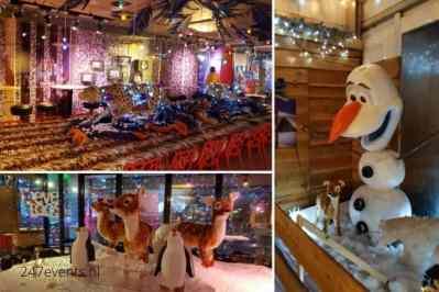 Kerstfeest zakelijk evenement of personeelsfeest met winter thema Christmas Fairy tale galerij afbeelding 13