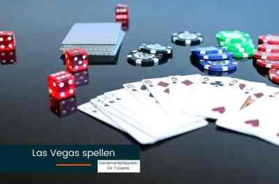 Las Vegas spellen tijdens een bedrijfsfeest