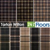 Tartan Carpet Wilton Woven Backing, Traditional Tartan ...
