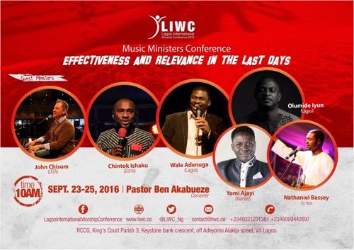 #Event :  LIWC, LAGOS INTERNATIONAL WORSHIP CONFERENCE {@LIWC_Ng}