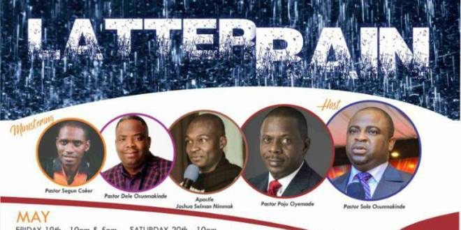 #Events : Abeokuta Believers Meeting Presents Latter Rain