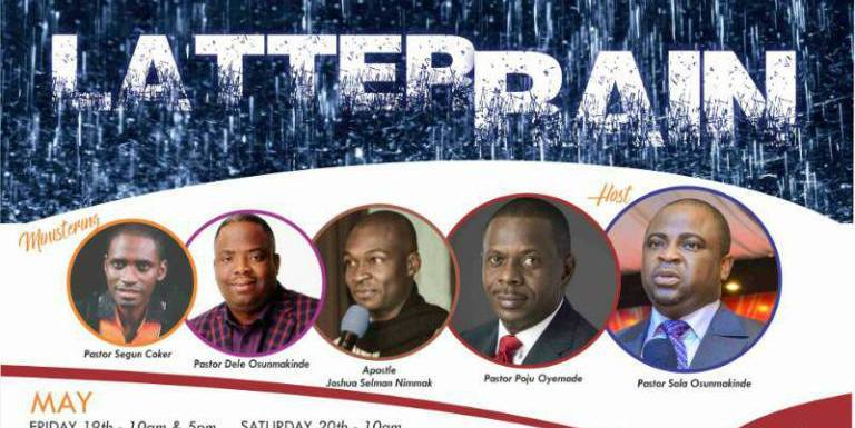 #247Events: Latter Rain 2017 Ministrations (Videos and Audios) Free Download